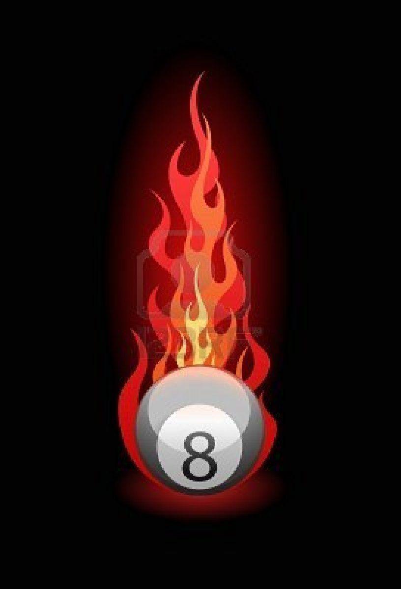 Permainan 8 Pool : permainan, Vector, Illustration, 'Eight', Billiard, Black.., Balls,, Billiards,