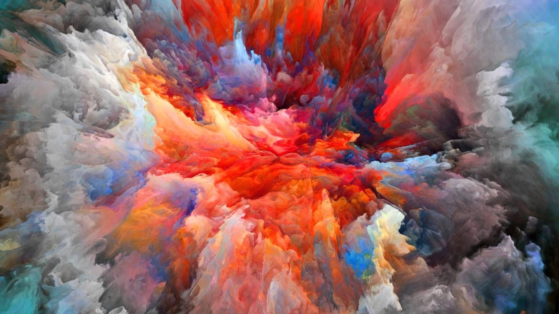 Tangerine Dream Electron Bonfire. Retina wallpaper