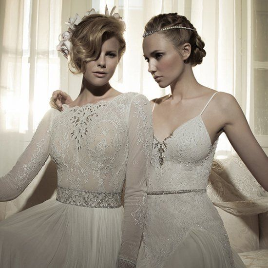 Lihi Hod is guaranteed to have your jaw hit the floor with a bridal collection full of tulle, lace and dreamy details!