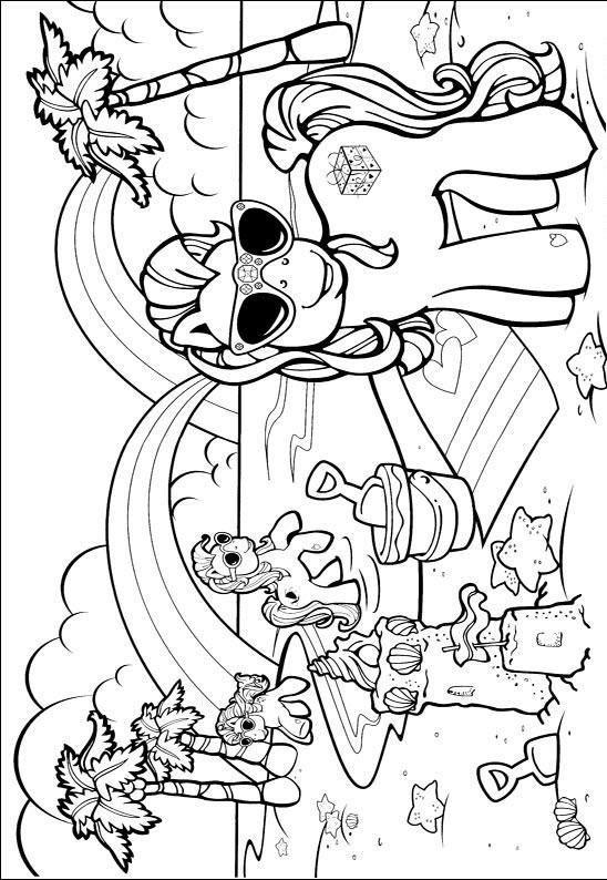 Desenho para colorir My Little Pony 330 Crianas ClickGrtis
