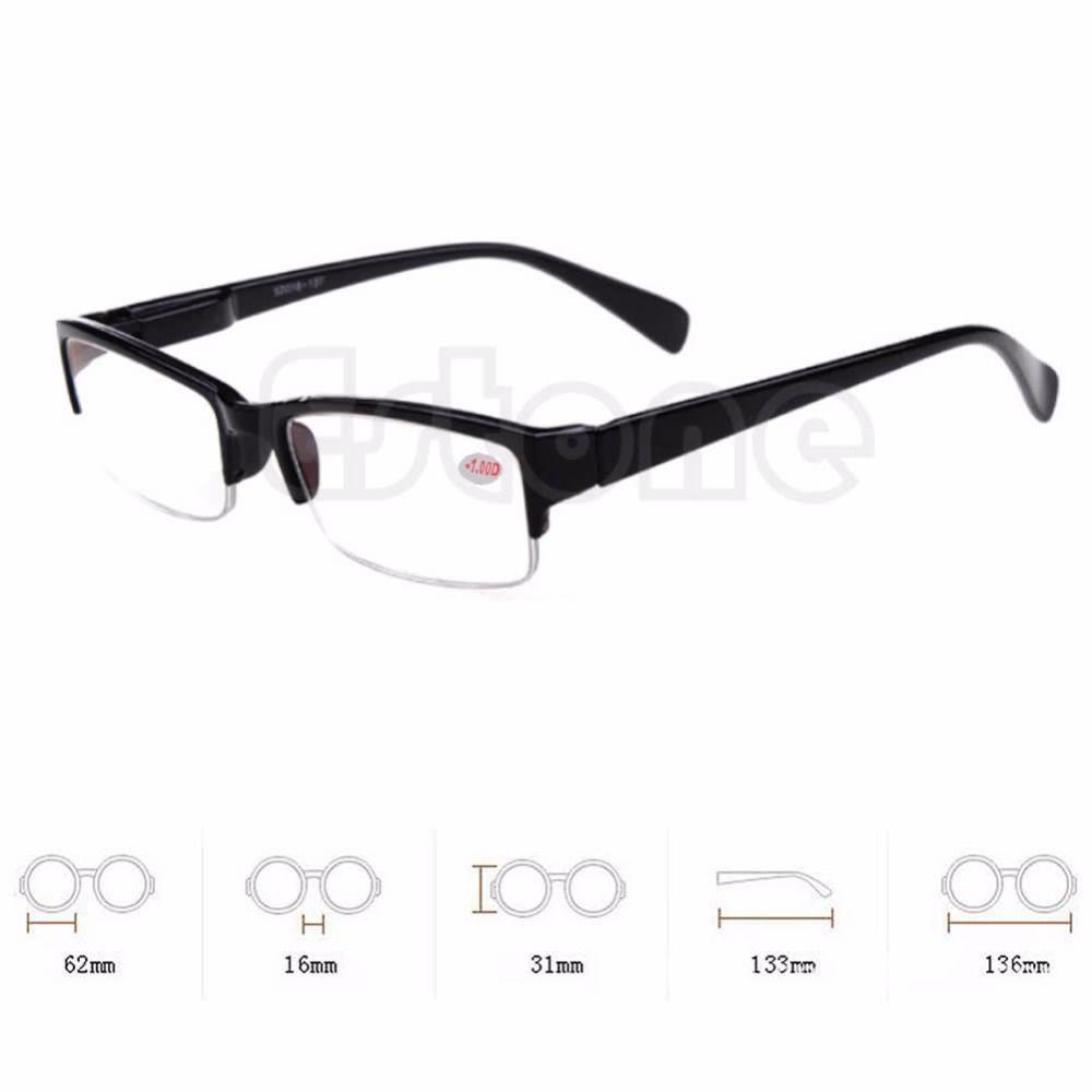 Caliente Semi-sin montura de Gafas de La Miopía Gafas de Marcos de ...