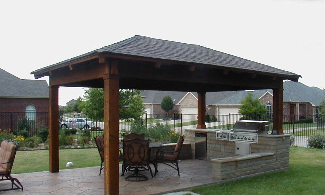Stand Alone Patio Designs : How to build a freestanding patio cover with best samples ideas