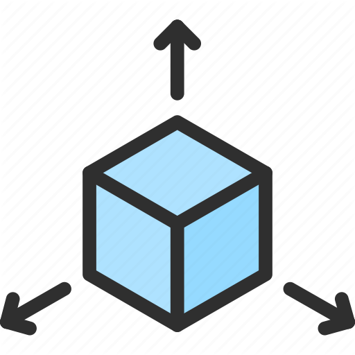 Cube Isometric Object Shape Way Icon Download On Iconfinder Isometric Icon Object