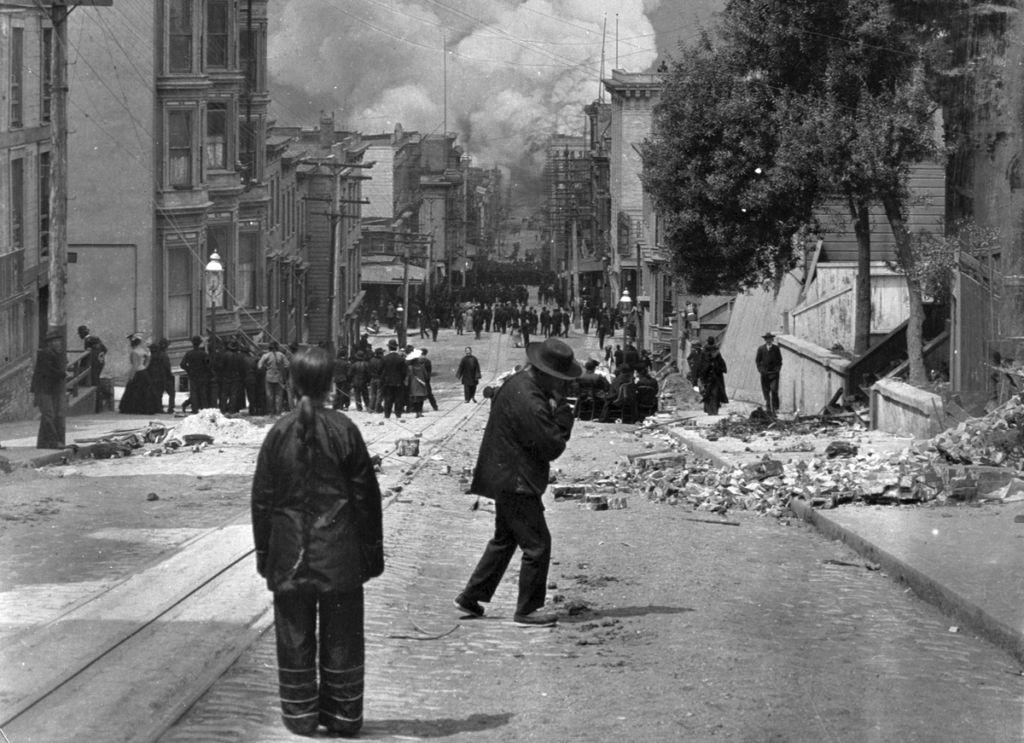 The 1906 San Francisco Earthquake In Photographs San