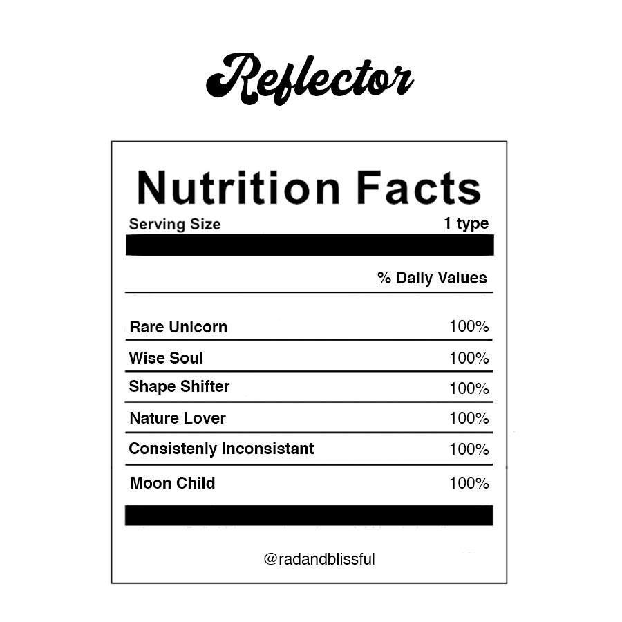 Human Design Reflector Energy Type Nutrition Facts Human Design Human Design System Design
