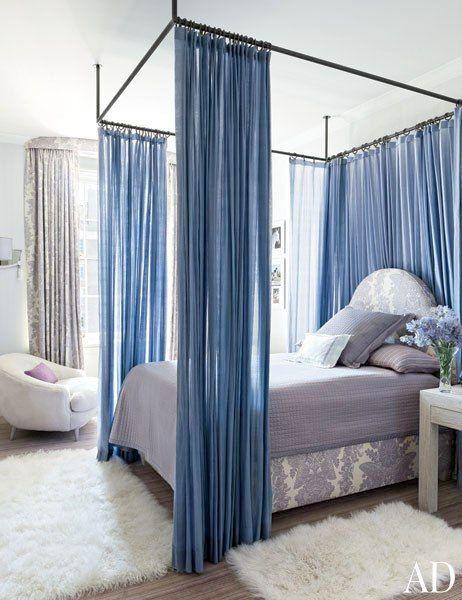 35 ljuvliga sovrum u2013 sätt sovrumsstilen med en sänghimmel Sänghimmel, Sovrum och Heminredning