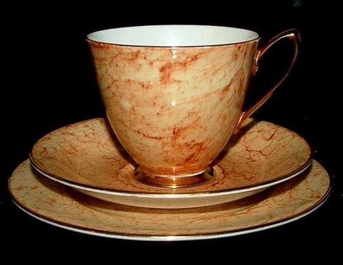 Cinnamon Buns Royal Albert Gossomer Tea Cup Candle