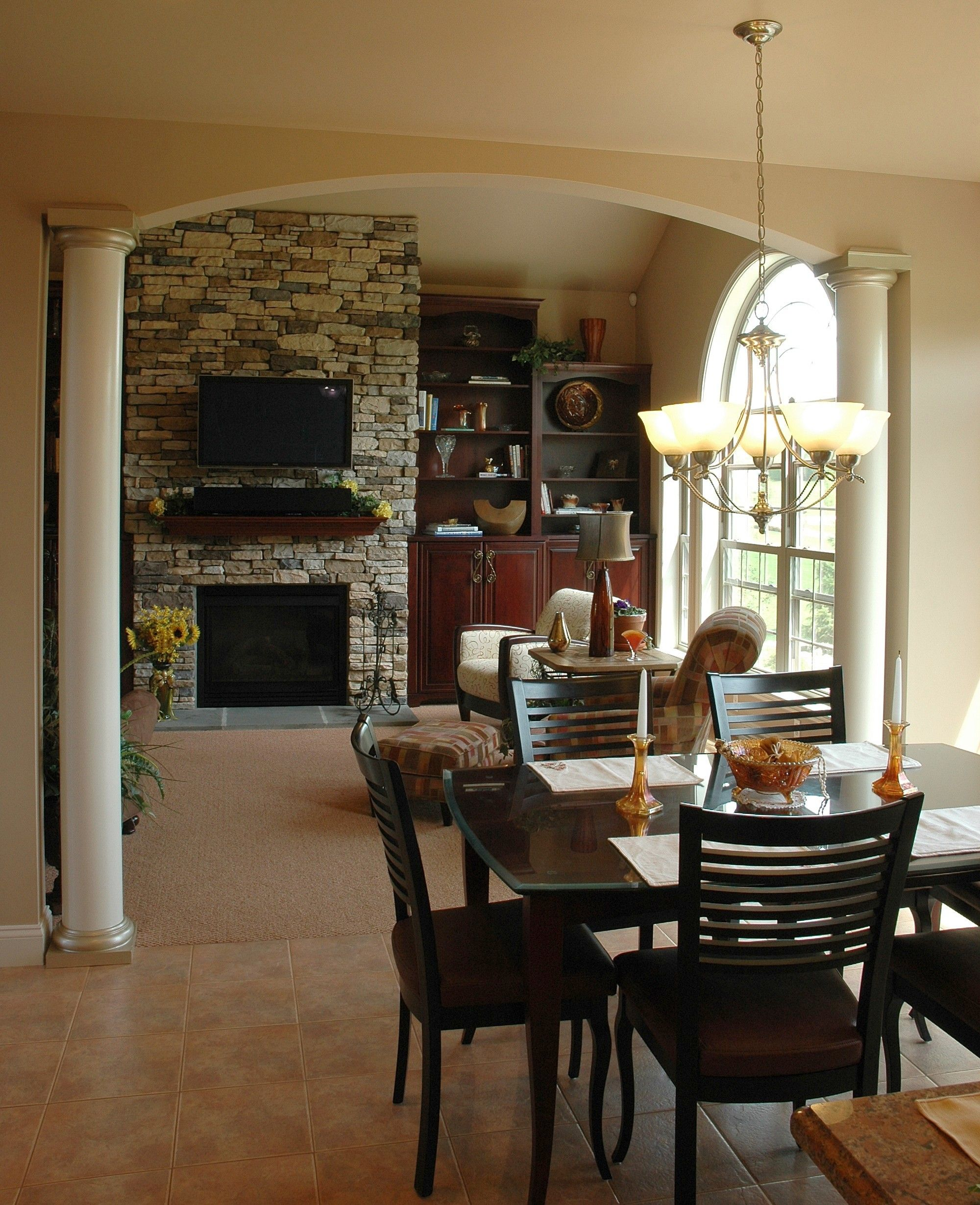 Handmade Kitchen Living Dining Room Remodel By Northwind: An Open Layout Allows You To Look In Towards The Family