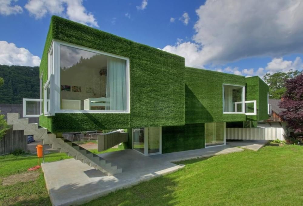 GREEN ECO FRIENDLY HOUSE,