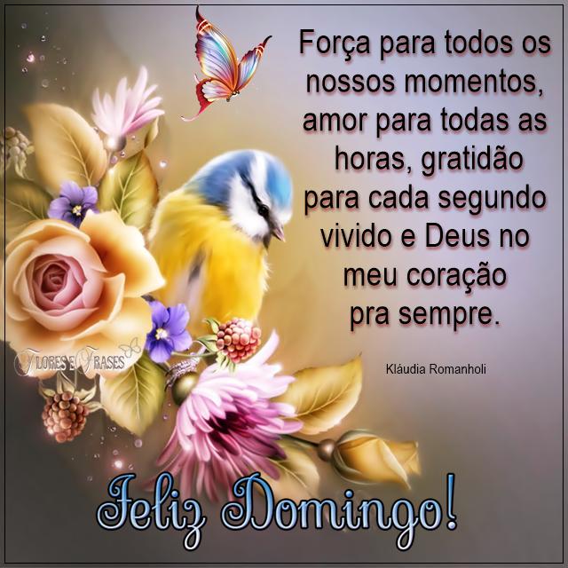 Flores E Frases Feliz Domingo Oracoes Pinterest Good Morning