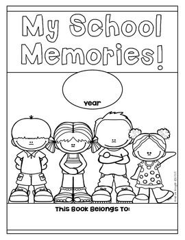 End of the Year Memory Book {Open-Ended Templates for K-2