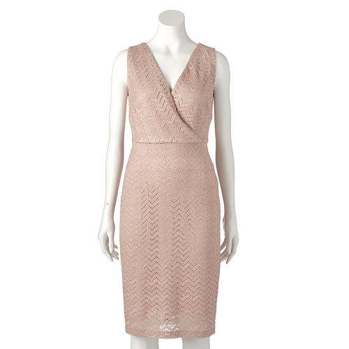 Dress-Up Angel Backpack Chevron Light Pink