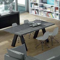 APEX Esstisch, kompakt oder ausziehbar 200/250 cm x 100 cm