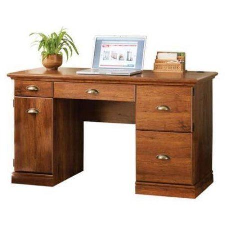9fc16ebe75684c96480e11f5d400806a - Better Homes And Gardens Computer Desk Brown Oak