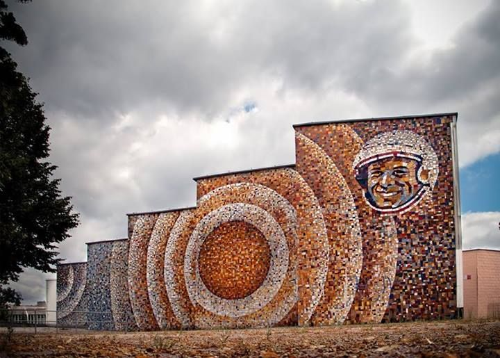 Jurij Gagarin Bathhouse Zielona Gora Monument Monument Valley Natural Landmarks