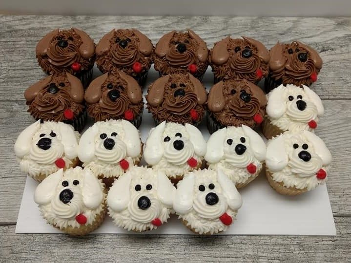 Check out these pictures of our cute cookies, cupcakes & cakes!
