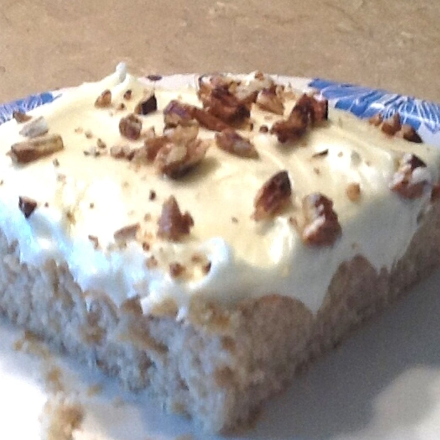 banana nut cake recipe with cream cheese frosting