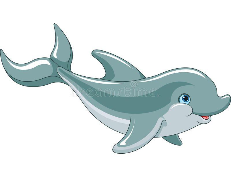 Photo About Swimming Dolphin Isolated On White Background Illustration Of Swim Aquarium Playful 31092714 Dolphins Cartoon Sea Animals Cartoon Animals