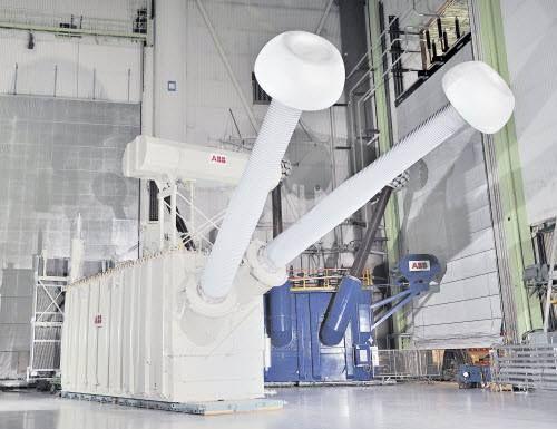 The World S First 800kv Uhvdc Power Transformer Abb Power