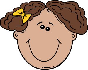 girl face cartoon clip art cclip art pinterest clip art rh pinterest com faces clipart black and white faces clip art images