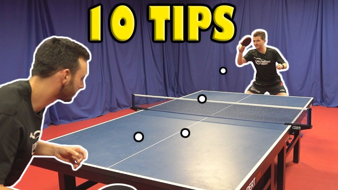 10 Tips To Become A Better Table Tennis Player Quickly Table Tennis