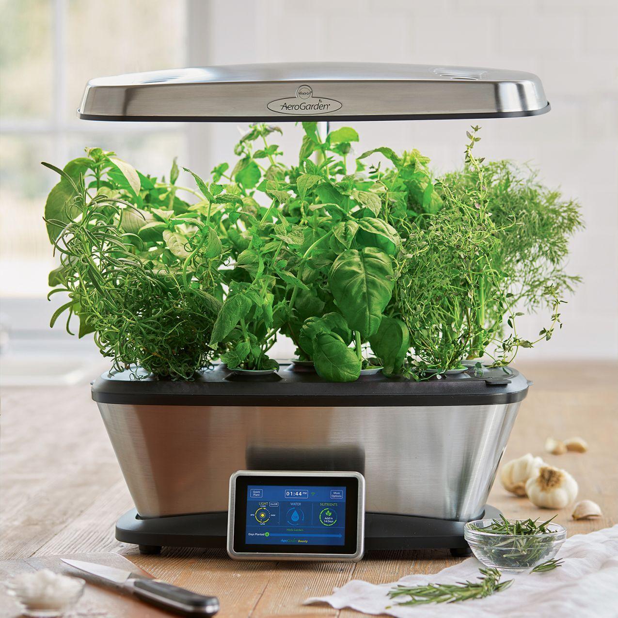 Aerogarden Bounty Wi Fi With Gourmet Herb Seed Pod Kit 400 x 300