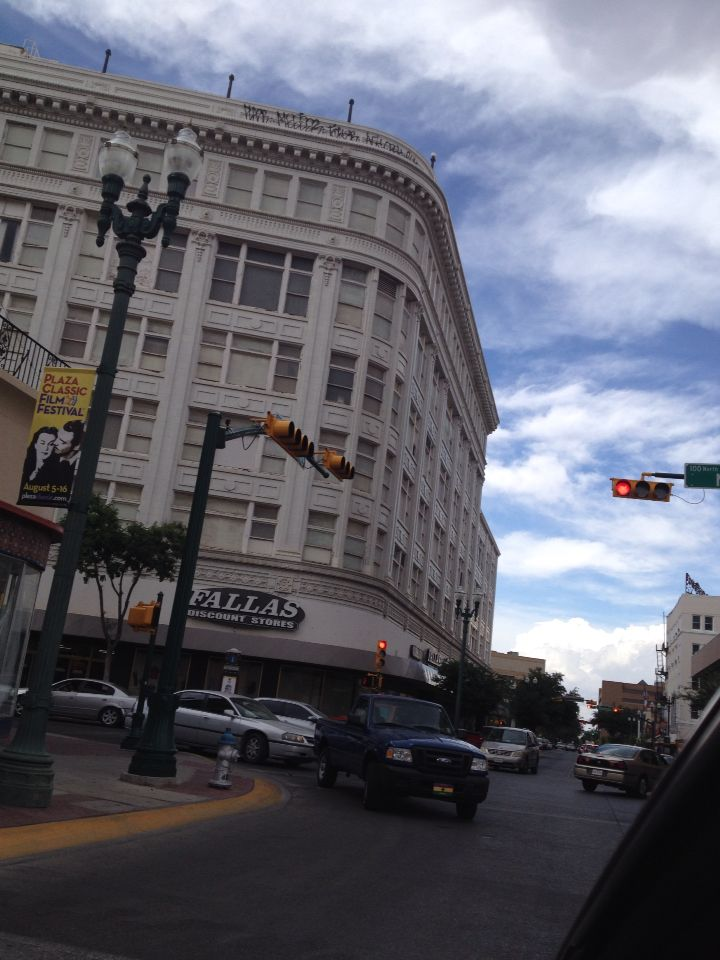 Cruising downtown el paso tx the old the popular dept