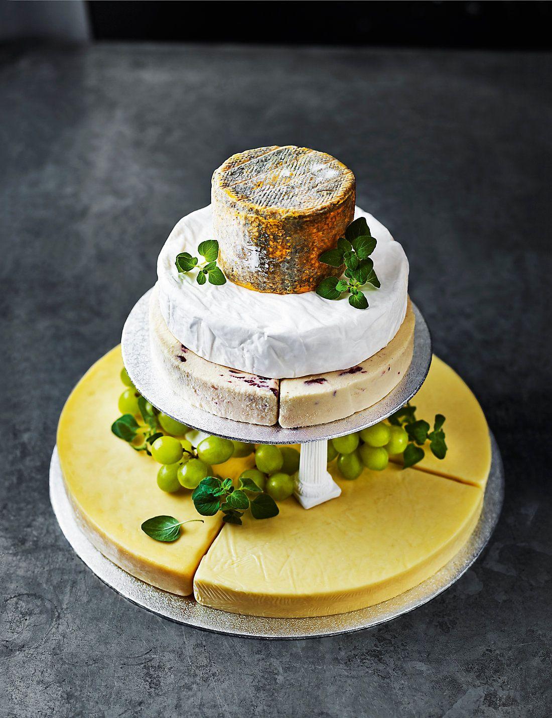 cheese wedding cake m&s