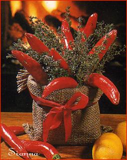 L' Albero di Natale: Un centrotavola....un sacco....profumato