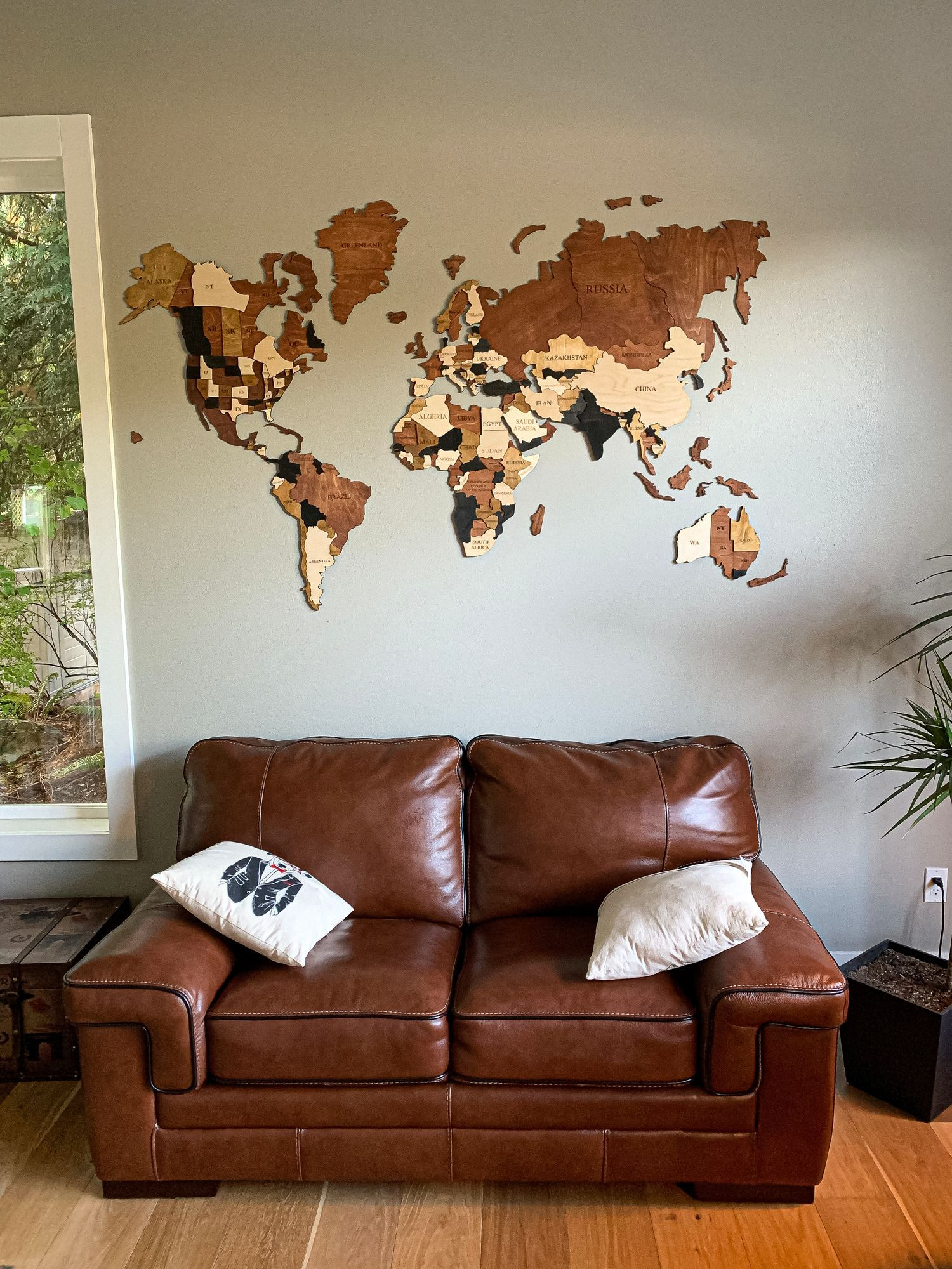Wall Map Of The World Map Wood Wall Decor Wood Wall Art Etsy Living Room Decor Rustic Map Wall Decor Wood Wall Decor
