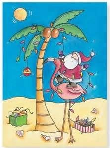 Christmas Flamingo - Bing images
