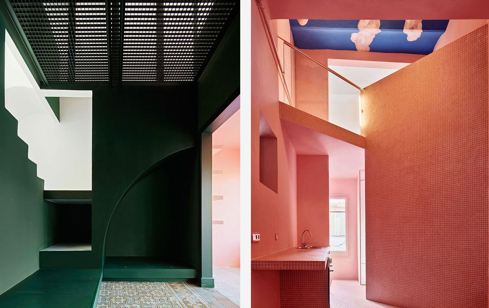 Interior designers using colour: Guillermo Santoma and his Casa Horta abode