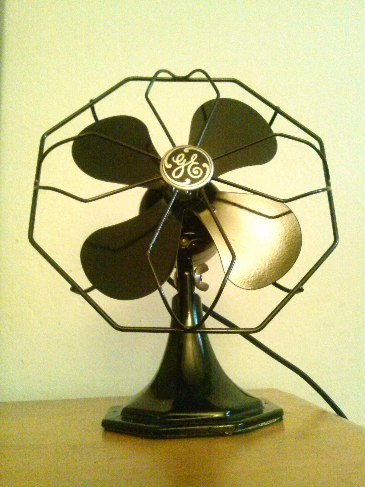 Antique Vintage Deco 30 S 10 Oscillating Electric Fan Professionally Restored 269 00 Antique Fans Vintage Fans Retro Fan