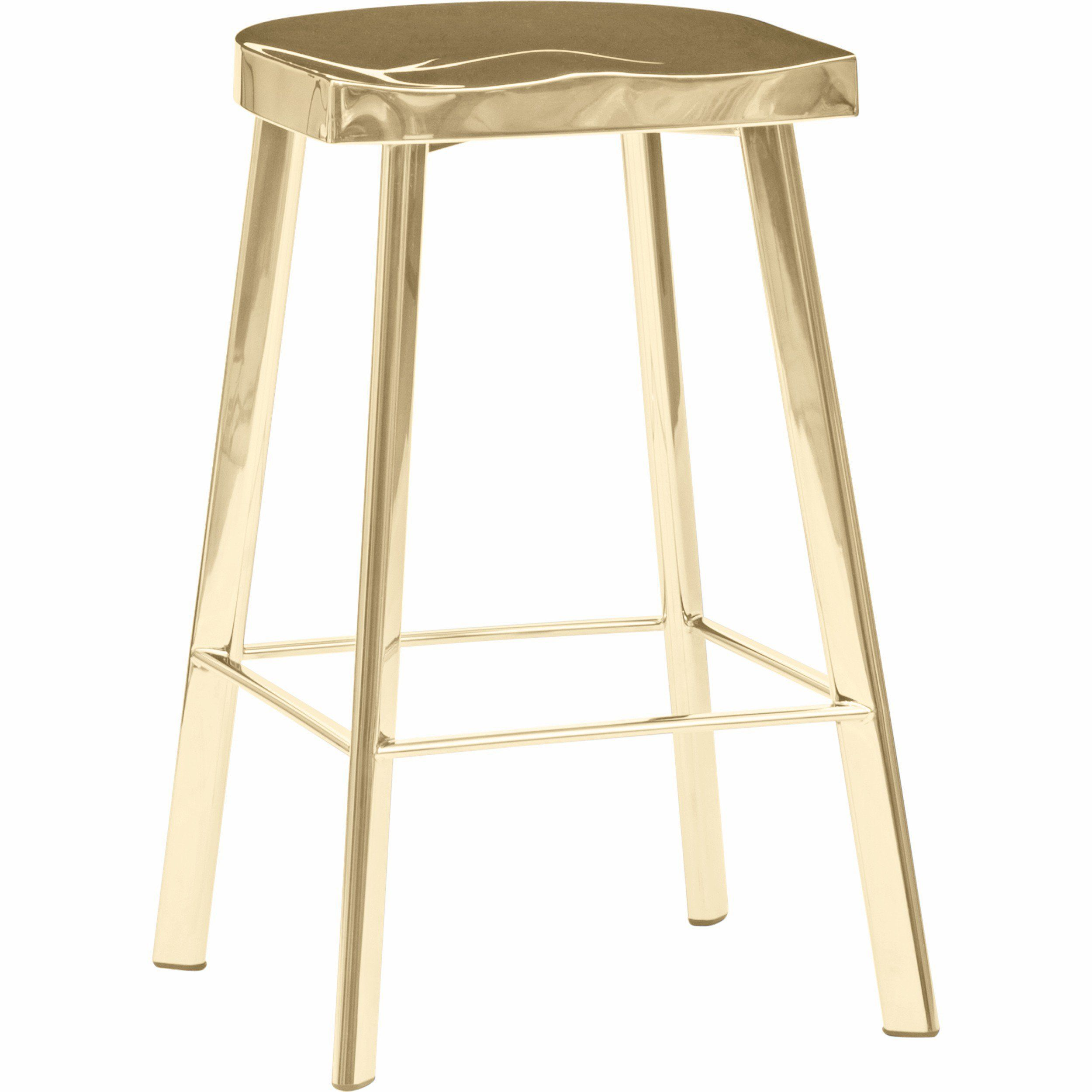 Icon counter stool gold