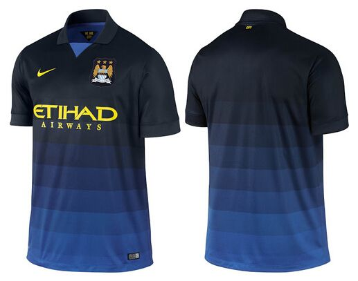 NIKE MANCHESTER CITY 14-15 AWAY KIT on www.fifafootballshirts.co.uk