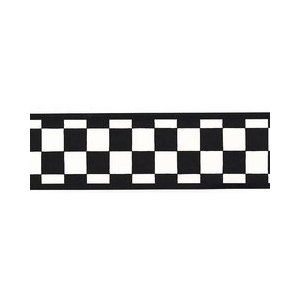 Checkered Flag Wallpaper Border