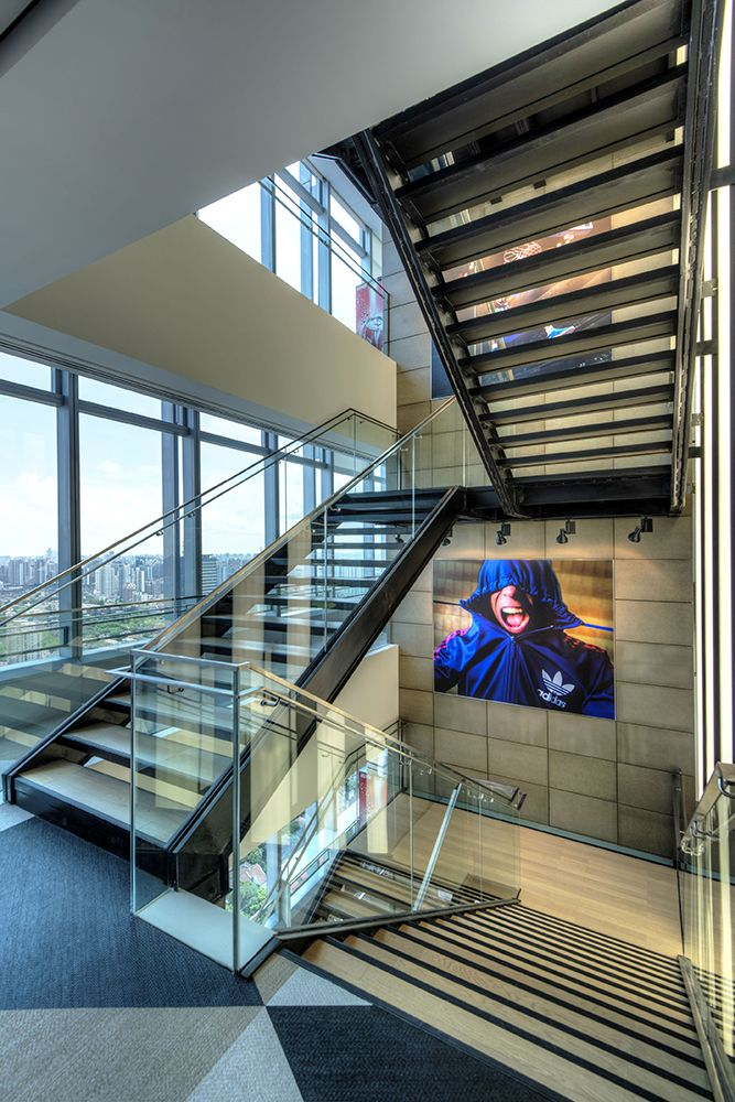 Best Office Tour Adidas Offices – Shanghai Staircase Design 400 x 300