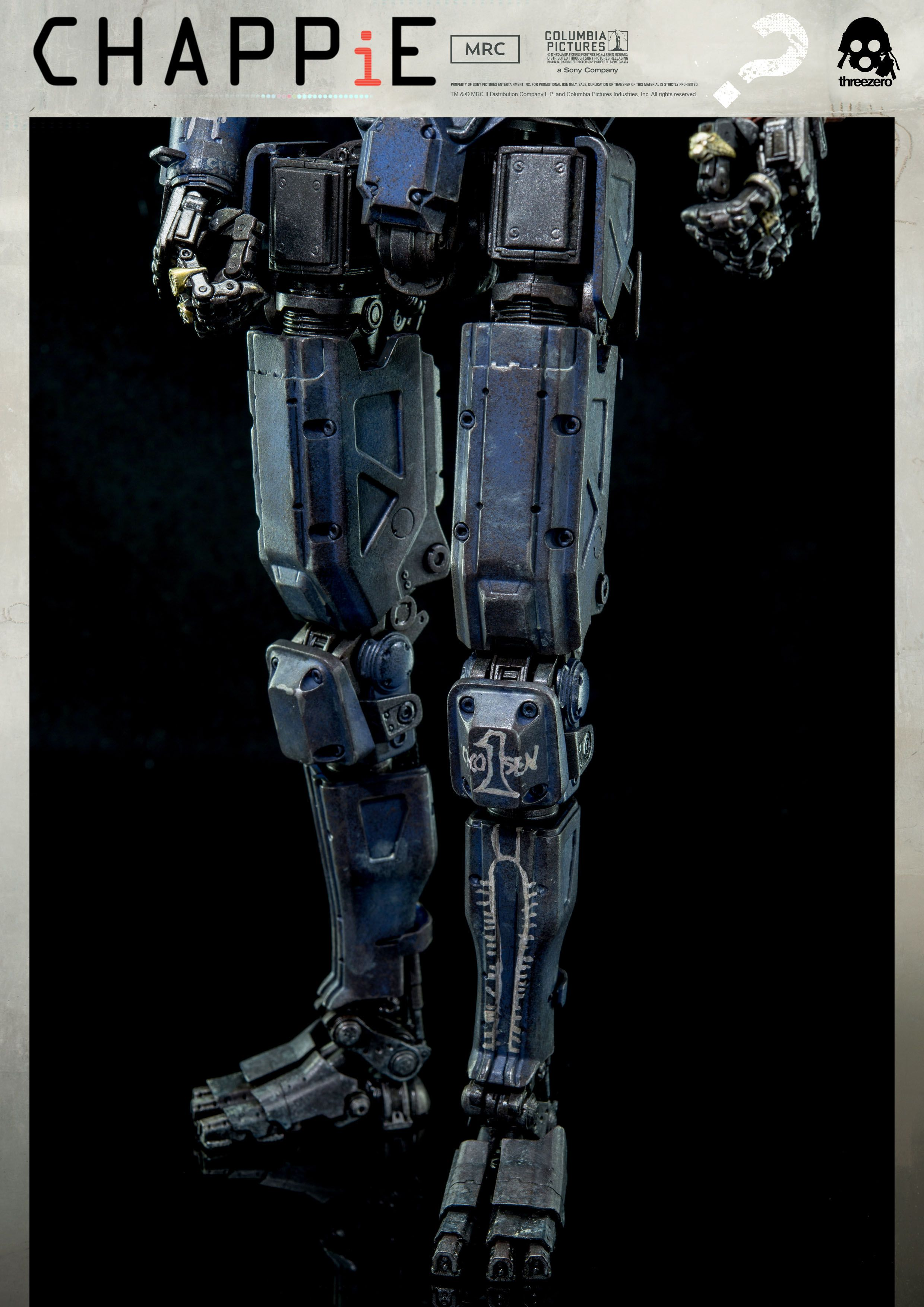 1 6th Scale Chappie Collectible Available For Pre Order On March 16th 9 00am Hong Kong Time At Www Threezerostore Com For 230 Usd 1780 Hkd With Chappie Robot