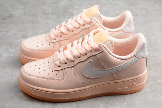 newest 63de0 d1aa8 Womens Nike Air Force 1 Low  07 Essential Crimson Tint AO2132-800-1