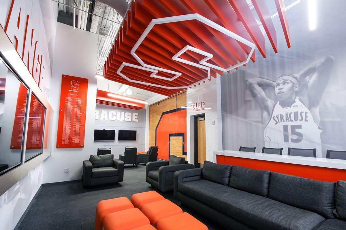 Syracuse University Men's Basketball Lounge on Behance