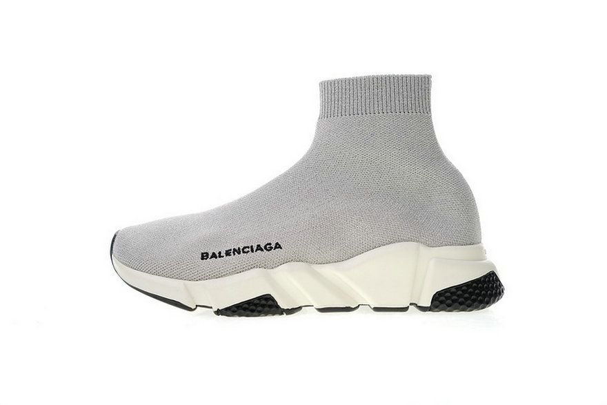003976745d1f Balenciaga Speed Stretch Knit Mid Grey White 49371 Wo Spring Summer 2018  Legit Cheap Sneaker