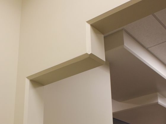 Drywall Corner Bead Options Chamfer Molded Corners Drywall