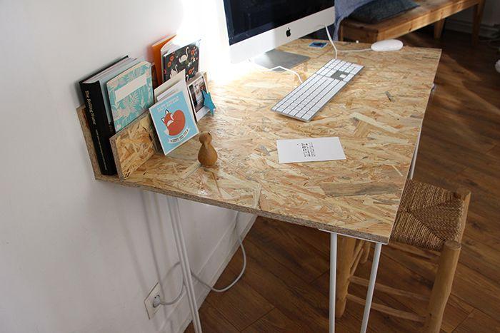 Un bureau osb handmade très simple à réaliser osb bureaus