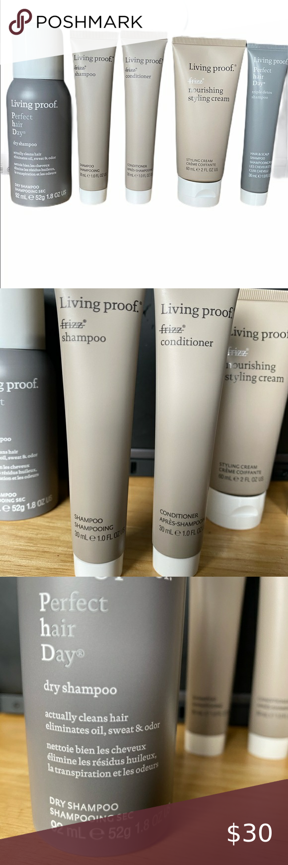 Living Proof Travel Set In 2020 Living Proof Hair Products Cosmetic Case Styling Cream