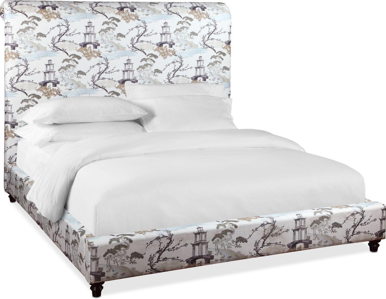 Diana Upholstered Bed | 0-guest bedroom | Upholstered beds ...