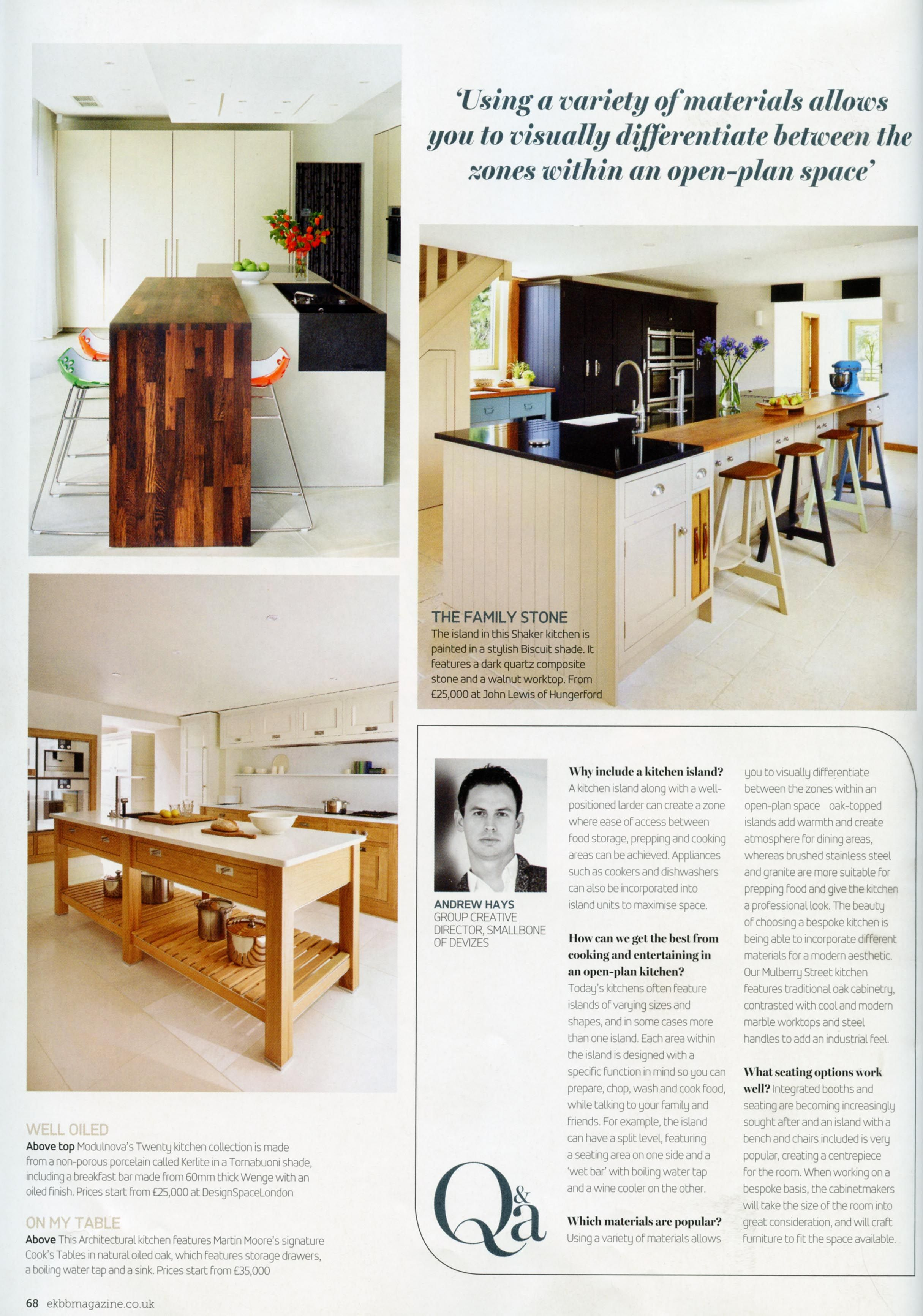 Two Stylish And Sleek Kitchens By Design Space London