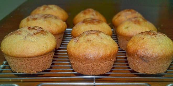 Low Carb Bananen-Zimt Muffins mit Proteinpulver ideal für Sportler
