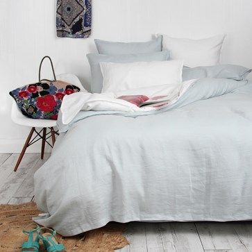 Add Texture And Detail To Your Bed With 100 Stonewashed Linen Perfectly Duvet Sets Linen Duvet Bedroom Makeover