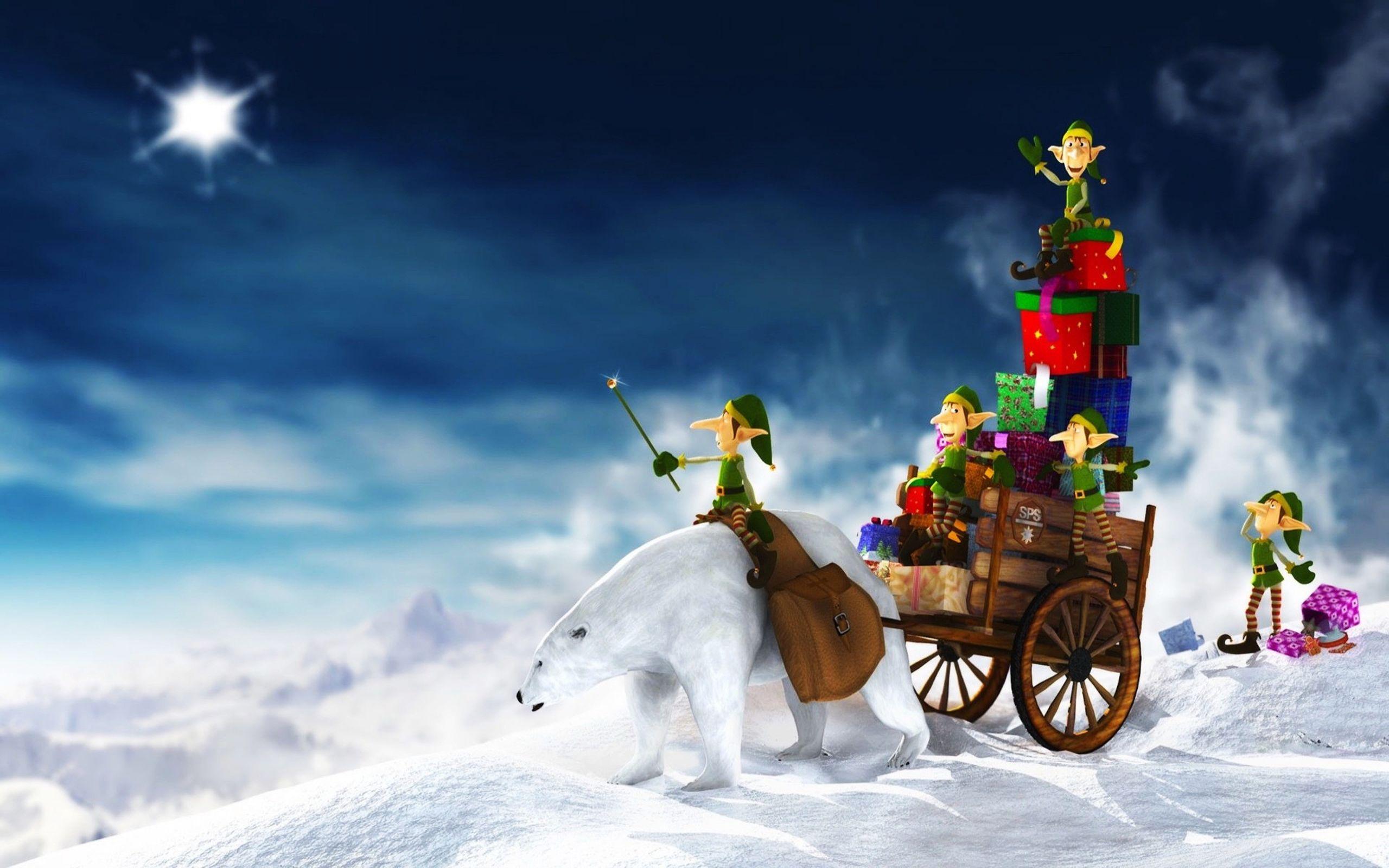 Animated Christmas HD Wallpapers 1