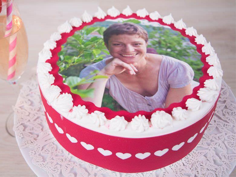 Tortenaufleger Tortenaufleger Geschenke Zum 40 Und Kuche Selber Machen